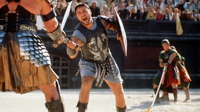 Russell Crowe as Maximus